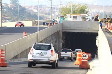Atualização da obra da Rotatória do Gás. Foto: Claudio Vieira/PMSJC 06-07-2020