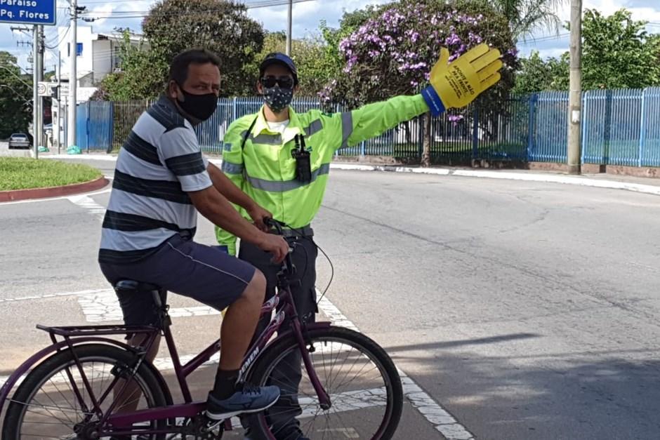 Prefeitura realiza Operação Pedestre no Campo dos Alemães, na região sul de São José dos Campos