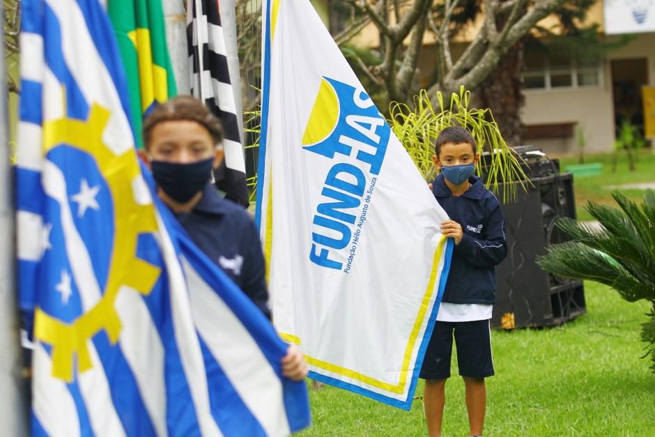 Comemoração de 34 anos da Fundhas. Foto: Claudio Vieira/PMSJC 28-04-2021