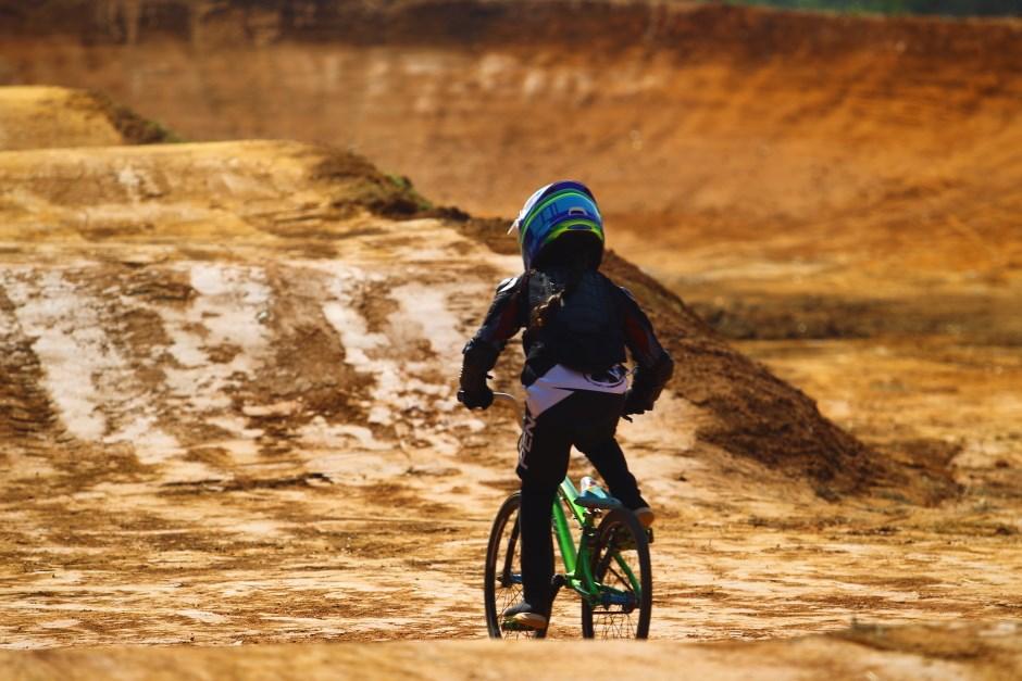 Nova pista de BMX. Foto: Claudio Vieira/PMSJC 22-07-2021