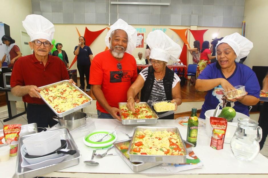 5cee9f725cc Gincana tem culinária especial e 347 kg de alimentos arrecadados ...