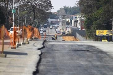 Obras da Linha Verde. Foto: Claudio Vieira/PMSJC 16-08-2021