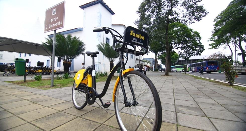cbc16f729 Lançamento do BikeSanja (bikes compartilhadas e ampliação das ciclovias).  Foto  Claudio Vieira