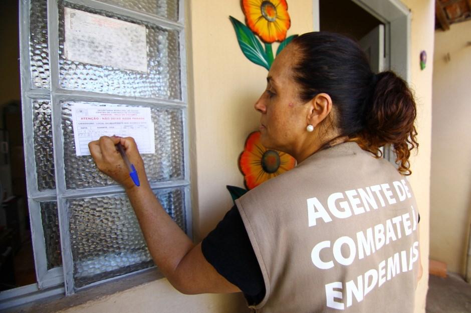 Arrastão contra a dengue na zona norte