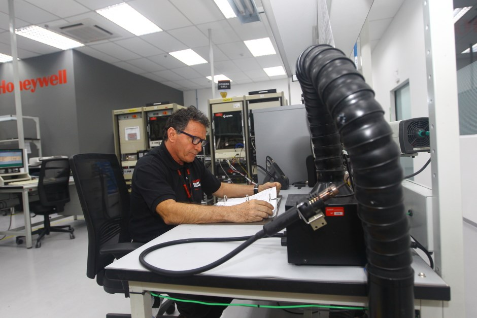 Honeywell inaugurou seu primeiro Centro de Serviços e Manutenção para aviação no Parque Tecnológico em São José. Foto: Claudio Vieira/ PMSJC. 08-08-2019